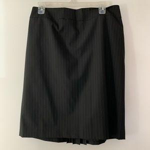Antonio Melani Striped Pencil Skirt